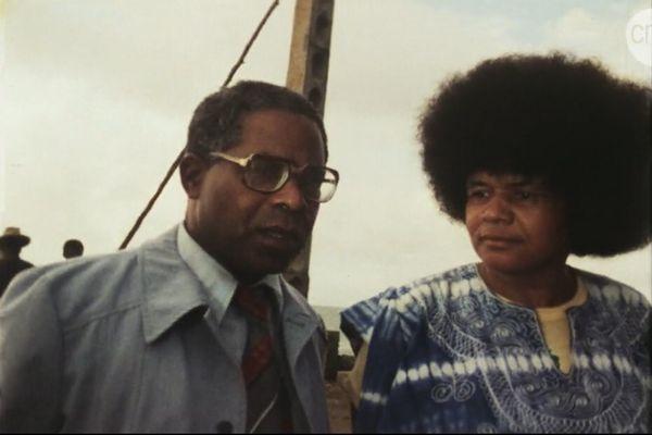 Aimé Césaire et Sarah Maldoror