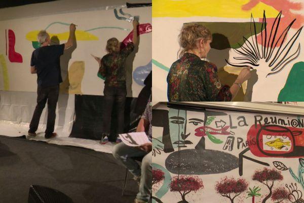 peinture réunion