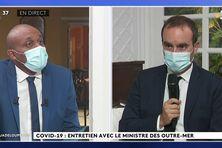 Edition spéciale Ministre des outre-mer en Guadeloupe interrogé par Jérome Boécasse