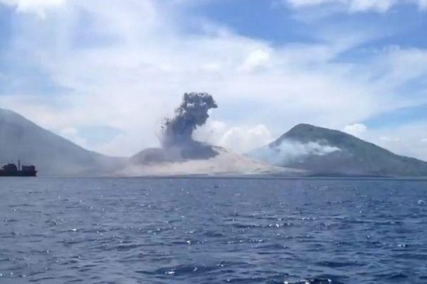 Explosion Tavurvur