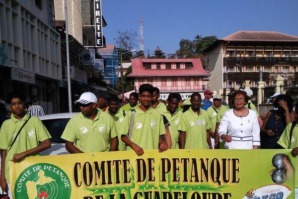 Pétanque de la Guadeloupe