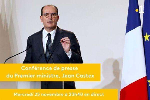 Conférence de presse Jean Castex