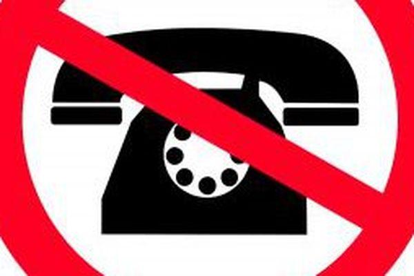coupure téléphone