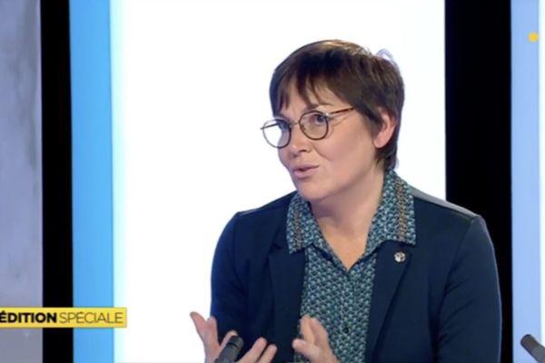 Annick Girardin évoque la Calédonie, entretien à Saint-Pierre-et-Miquelon la 1ere, 5 janvier 2019.