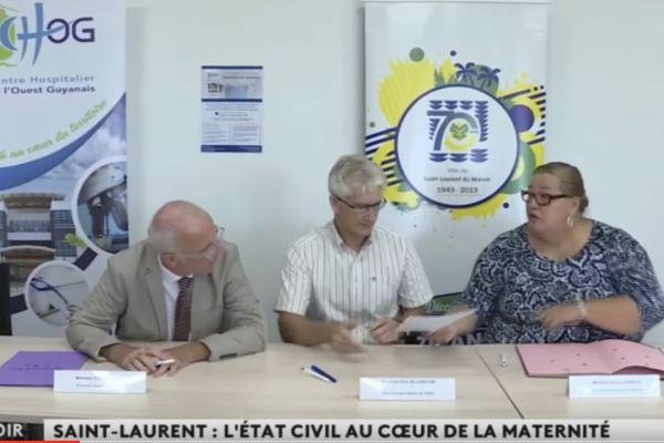 Saint-Laurent : un bureau de l'Etat civil au sein du Centre Hospitalier de l'Ouest Guyanais