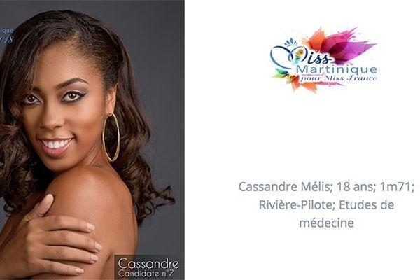 Miss 7 Cassandre Mélis