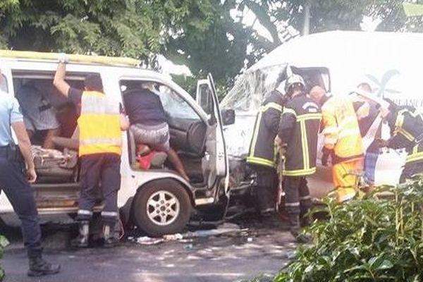 Accident à Paea 23 01 15