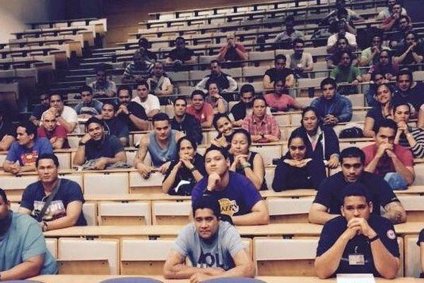 Les 164 élèves polynésiens de l'ENAP
