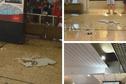 Aéroport de Tahiti-Faa'a : une plaque du plafond tombe