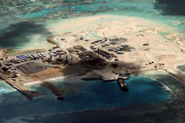 Australie Chine îles artificielles  270216