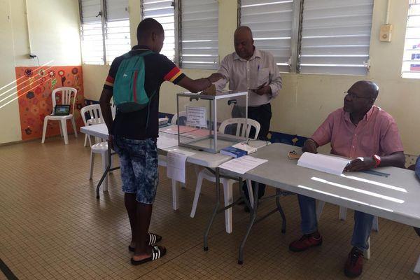 Vote à Baie-Mahault Municipales