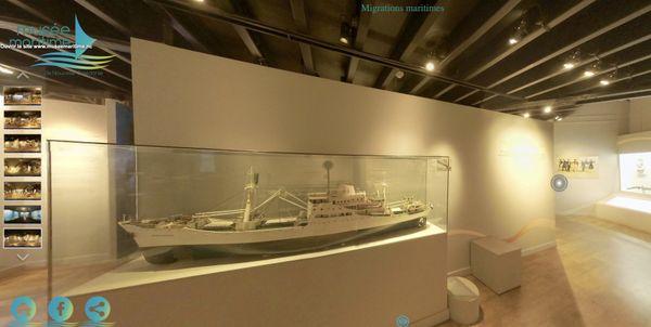 Visite virtuelle au musée maritime