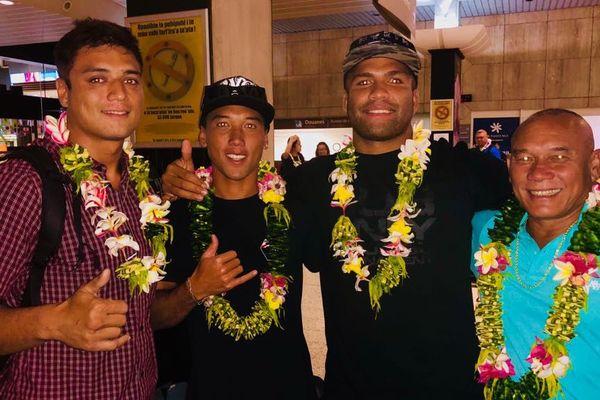 Combo de médailles pour la Polynésie !