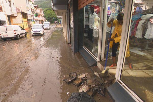 Inondations à Rivière-Pilote