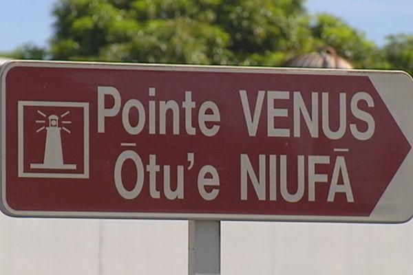 Pointe Vneus panneau