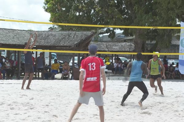 Succès de la décentralisation  du beach volley à Saint-Laurent