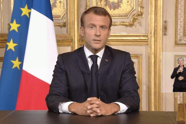 Allocution Président de la République