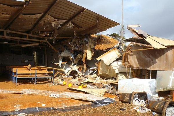 chapelle détruite VALE NC