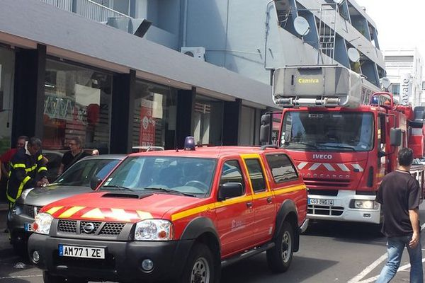 Incendie immeuble Ravate