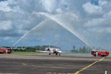 Vol inaugural pour la Sky High en ce 5 juillet 2021.