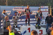 Giani Catorc sur la plus haute marche du podium