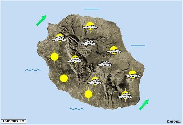 Carte météo 16 mai 2019