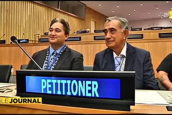 Oscar Temaru et Richard Tuheiava auditionnés par le comité spécial de la décolonisation de l'ONU