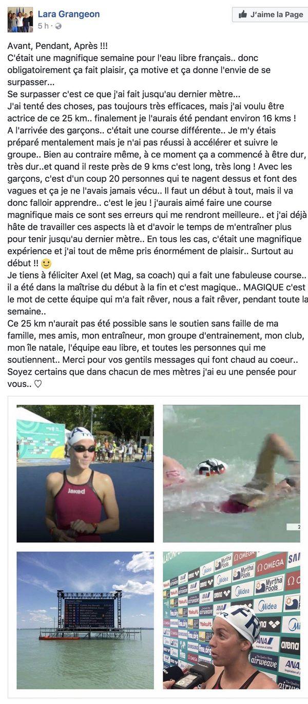 Lara Grangeon Facebook