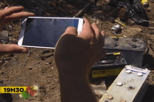 """Application mobile """"Île propre"""""""
