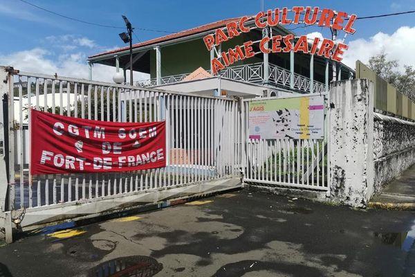 Parc Culturel Aimé Césaire bloqué