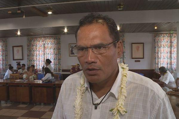 Tauhiti Nena a présenté officiellement sa candidature aux municipales 2020