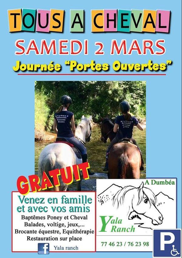 Affiche Tous à cheval Yala ranch