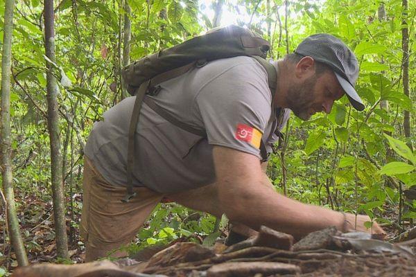 Stéphane Plaine agent du parc national de Guyane