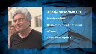 Fiche candidat Alain Descombels