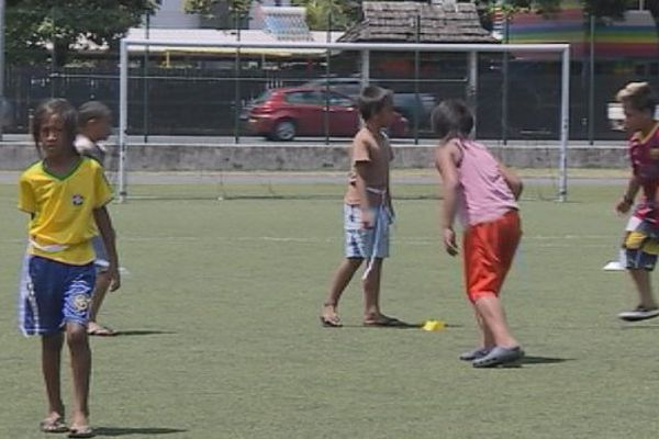 Papeete : des dizaines d'enfants en stage sportif pendant les vacances