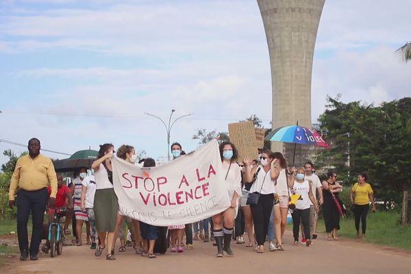 Marche à Maripa-Soula contre les violences