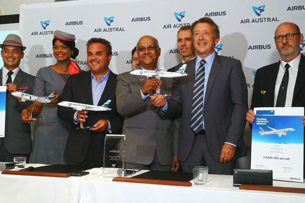 Air Austral renouvelle sa flotte achat 3 Airbus A220-300 121019