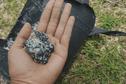 5 à 6 kg d'hydrocarbures retrouvés sur la plage