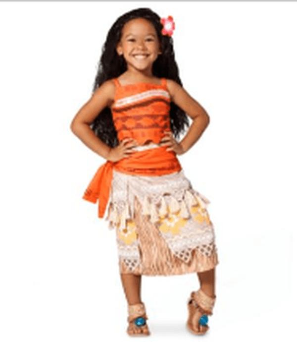 Disney propose aussi le déguisement de Moana