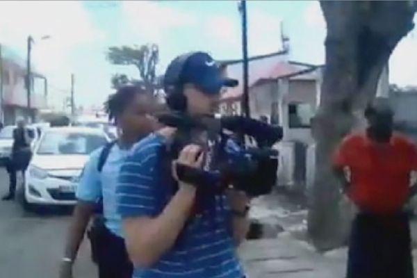 Arrestation filmée