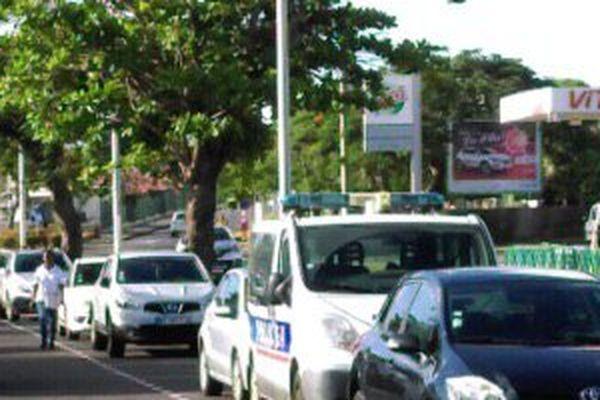 opération de police à Capesterre Belle Eau