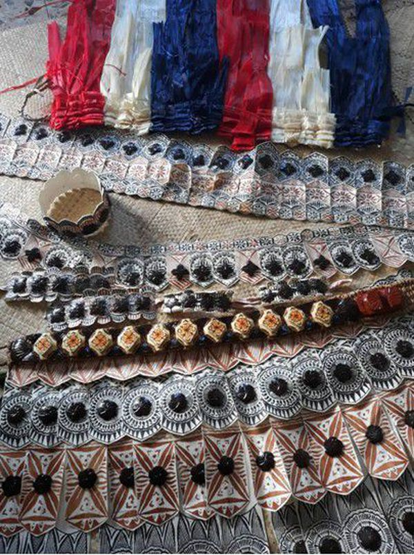 tenue traditionnelle concours de danse futuna
