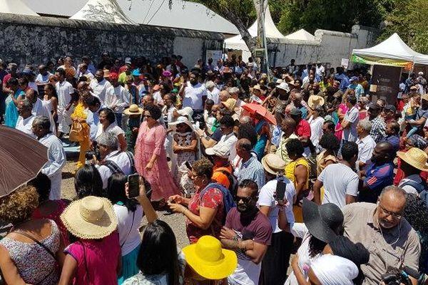 Un millier de personnes rendent hommage aux ancêtres engagés de La Réunion à la Grande Chaloupe.