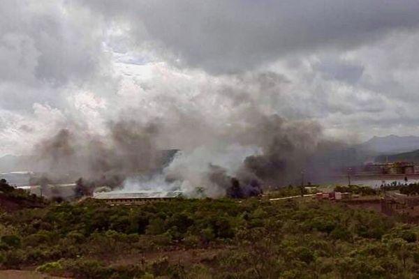Incendie dans les bâtiments administratifs du complexe de Vale NC
