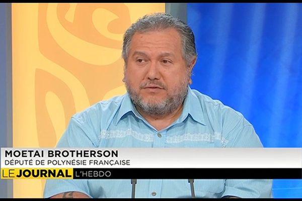 Moetai Brotherson raconte ses premiers pas à l'Assemblée nationale