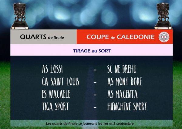 Foot quarts de finale coupe de Calédonie