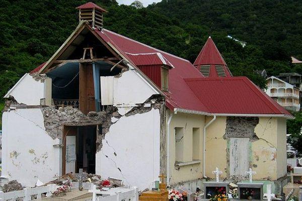 Séisme au Saintes en novembre 2004