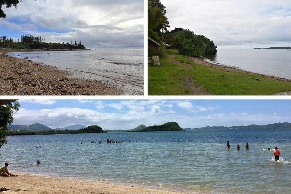Sites de baignade du Grand Nouméa, mosaïque