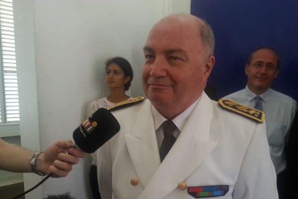 Le préfet de Guyane Martin Jeager