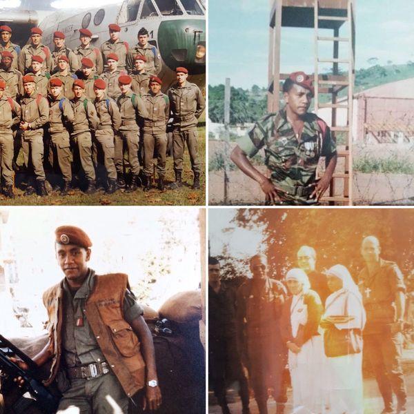 Premier sous-officier Kanak à intégrer les parachutistes, Patchouli a eu le privilège de rencontrer Mère Thérésa